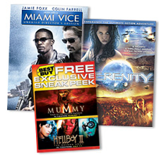 Free Movie Certificate and Bonus Disc
