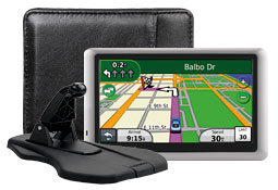 GPS, case and mount