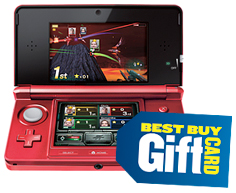 Nintendo 3DS and gift card