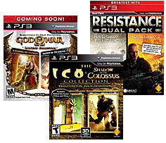 PS3 Collections