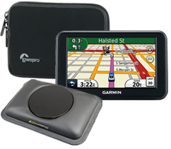 GPS, mount and case