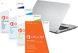 Microsoft Office software and PC