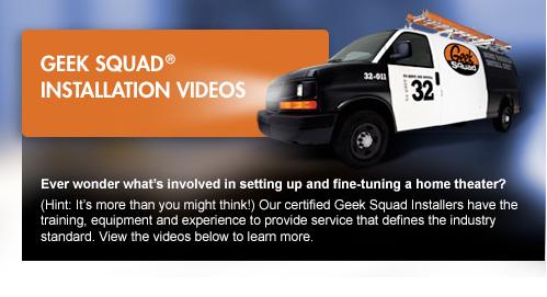 Geek Squad Video Installation