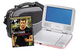 BestBuy - 7-inch Susan G Komen Portable DVD Player - $99.99