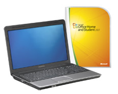 Microsoft Home and Student 2007 and PC