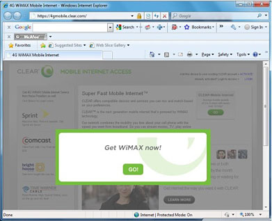 Step 6 - Get WiMAX now