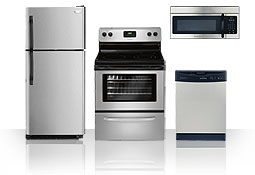 Frigidaire kitchen appliances