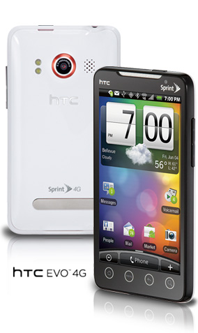 HTC White EVO 4G
