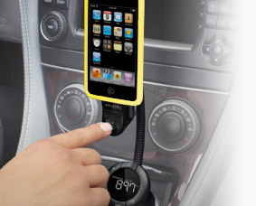 Conecte un iPod en su auto