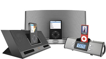 iPod Speaker Docks