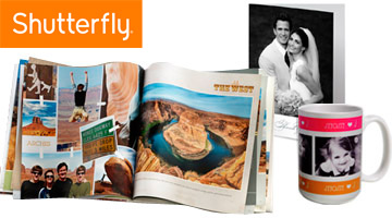 Collage de productos Shutterfly