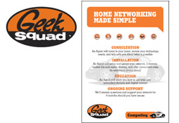 Geek Squad networking service