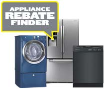 Appliance Rebate Finder