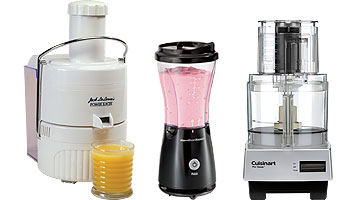 Blender, juicer and food processor