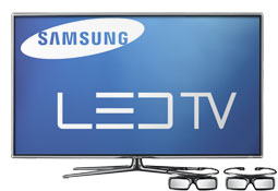 Samsung PN59D550 59 inch 1080p 600Hz 3D Plasma HDTV with Crystal Full HD Engine, 3D Technology, 200,000:1 Contrast Ratio, 4 HDMI