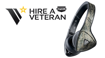 Headphones, hire a veteran