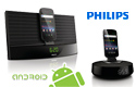 Philips docking speakers