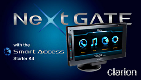 Next Gate with the Smart Access starter kit