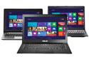 ASUS touch-screen laptops
