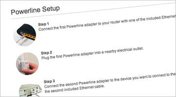 Powerline Network Adapter