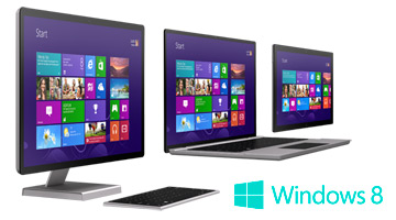 Computadoras con Windows 8