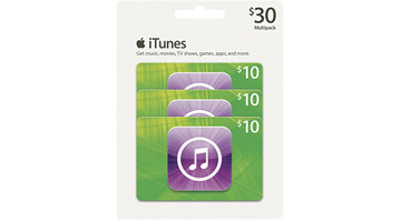 iTunes Gift Card Multipack