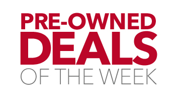 Pre-owned deals of the week