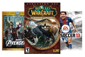 World of Warcraft, Avengers, FIFA 13
