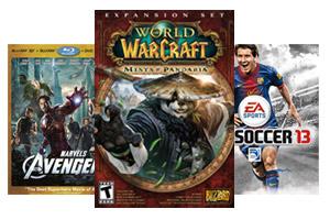 World of Warcraft, Avengers, FIFA 13
