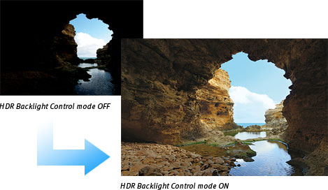 HDR Backlight Control