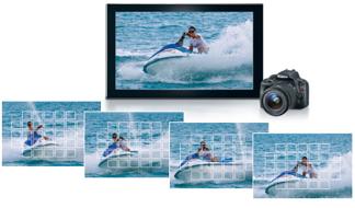 TV, video capture screen