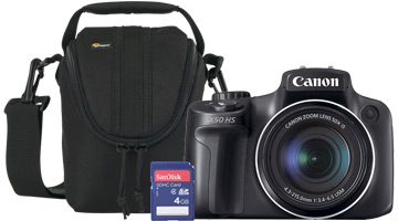 Camera, bag and memory card 