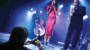 Photographer at concert