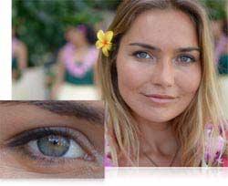 Woman, close up of eye