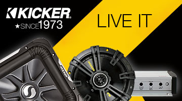 Car audio equipment, Kicker, since 1973