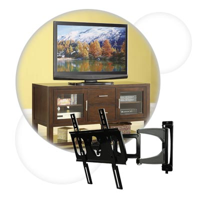 TV Mounting and Furniture