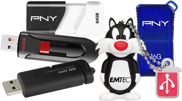 Unidades de memoria flash USB