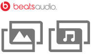 Beats and Performance icons
