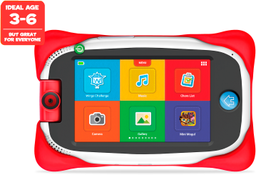 Tablet, ideal age 3-6, but great for everyone, learn, discover, grow