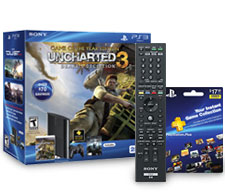 Remote, card and PS3 bundle