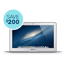 FO3 LP $200 off MacBook Air 11 and 13