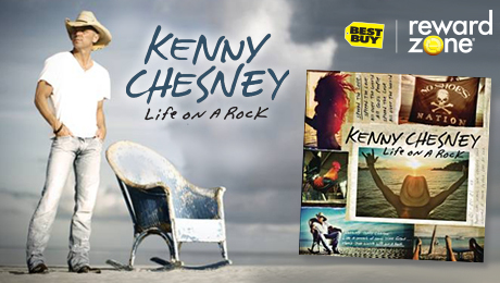 Kenny Chesney CD, Reward Zone