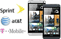 Mobile phone, Sprint, A T and T, T Mobile