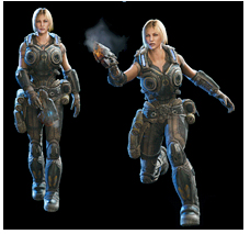 Gears of War Judgment, Anya Stroud skin