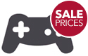 Game controller, sale prices