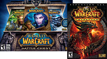 World of Warcraft games