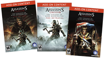 Assassins Creed 3 add-ons