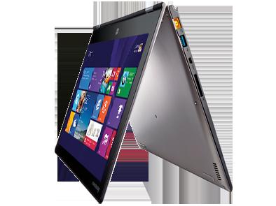 Blue Label laptop running Windows 8