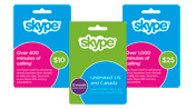 Skype cards