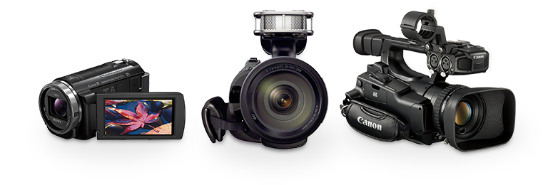 Traditional and Professional Camcorders